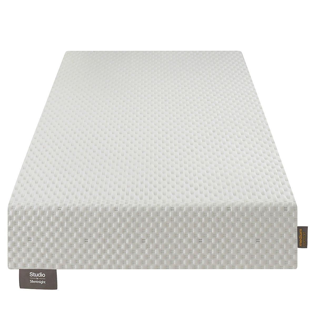 Silentnight Studio Medium White Mattress - Single