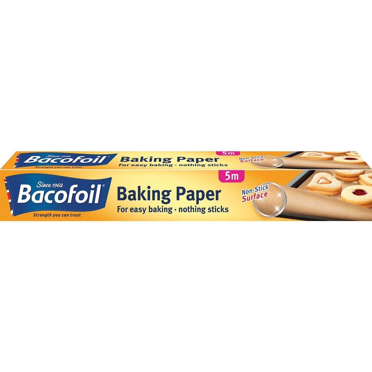 Bacofoil Non-Stick Baking Paper - 5 metres