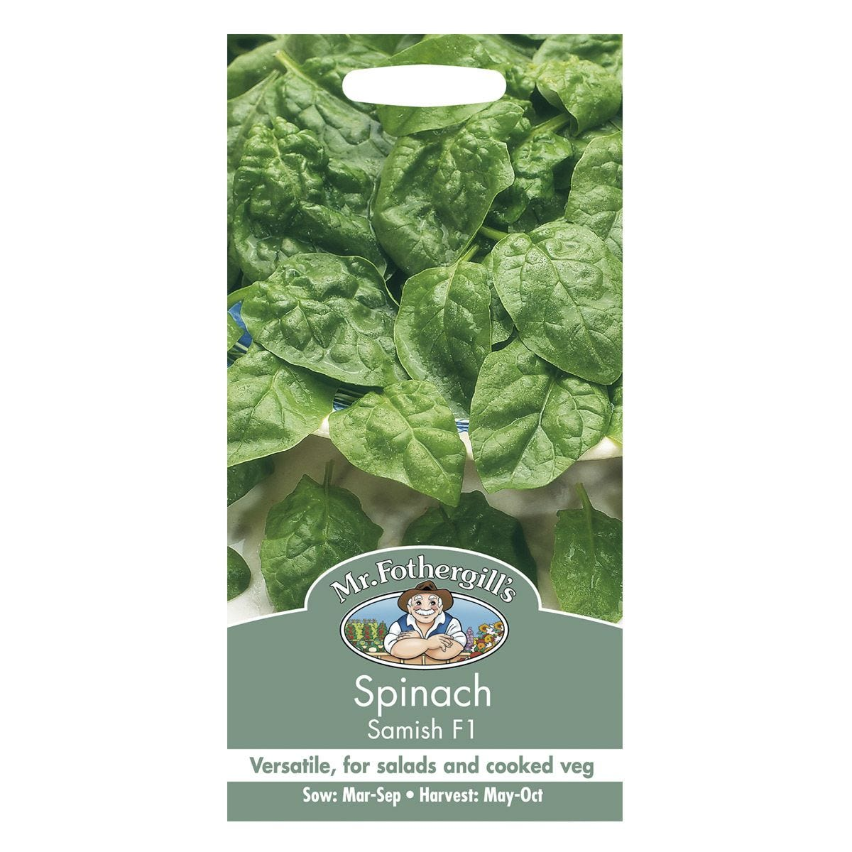 Mr Fothergill's Spinach Samish F1 Seeds
