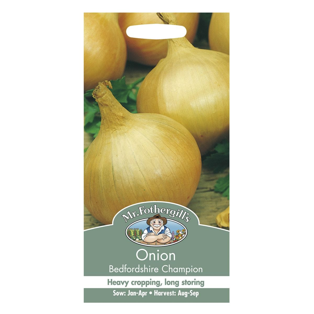 Mr Fothergill's Onion Bedfordshire Champion Seeds