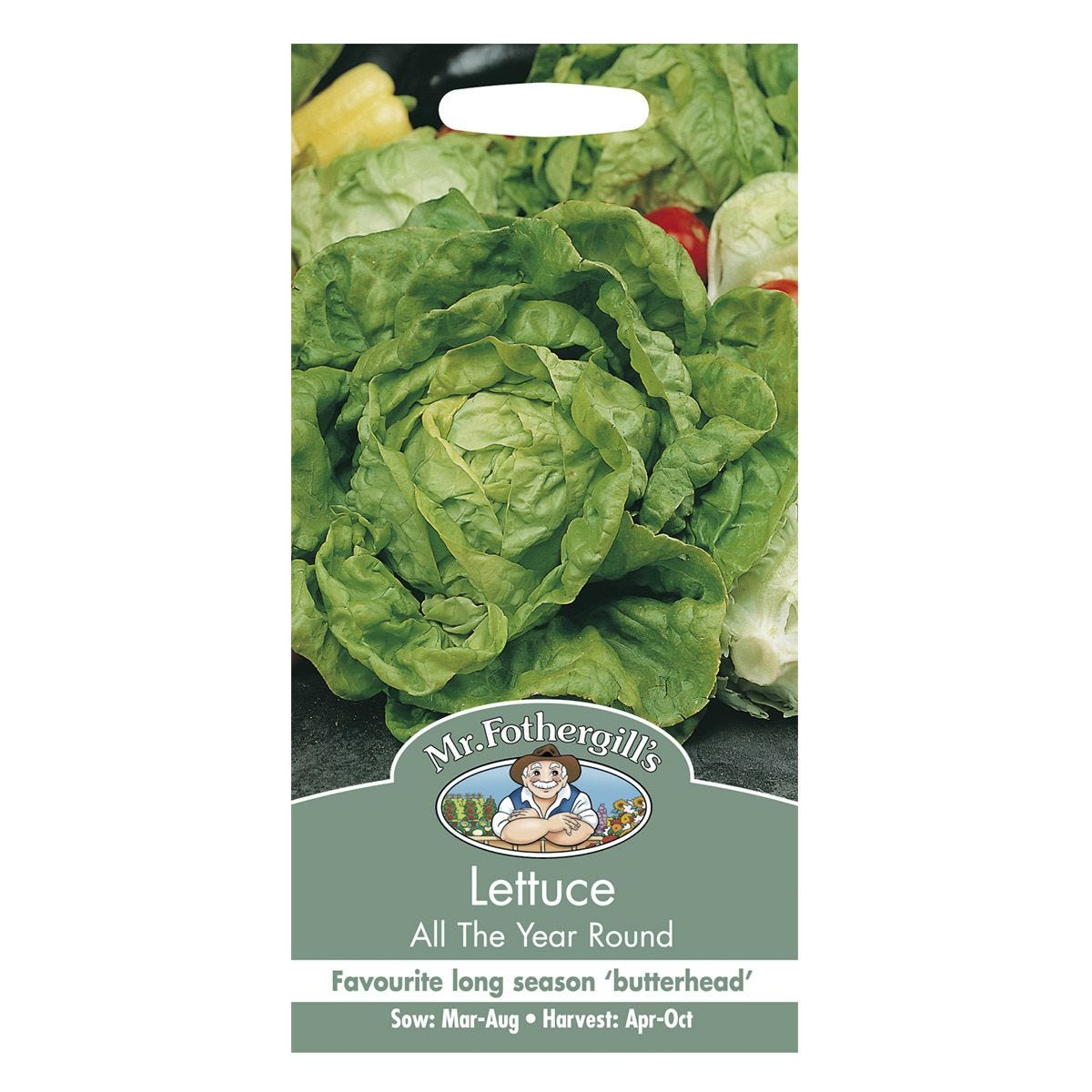 Mr Fothergill's Lettuce All The Year Round Seeds