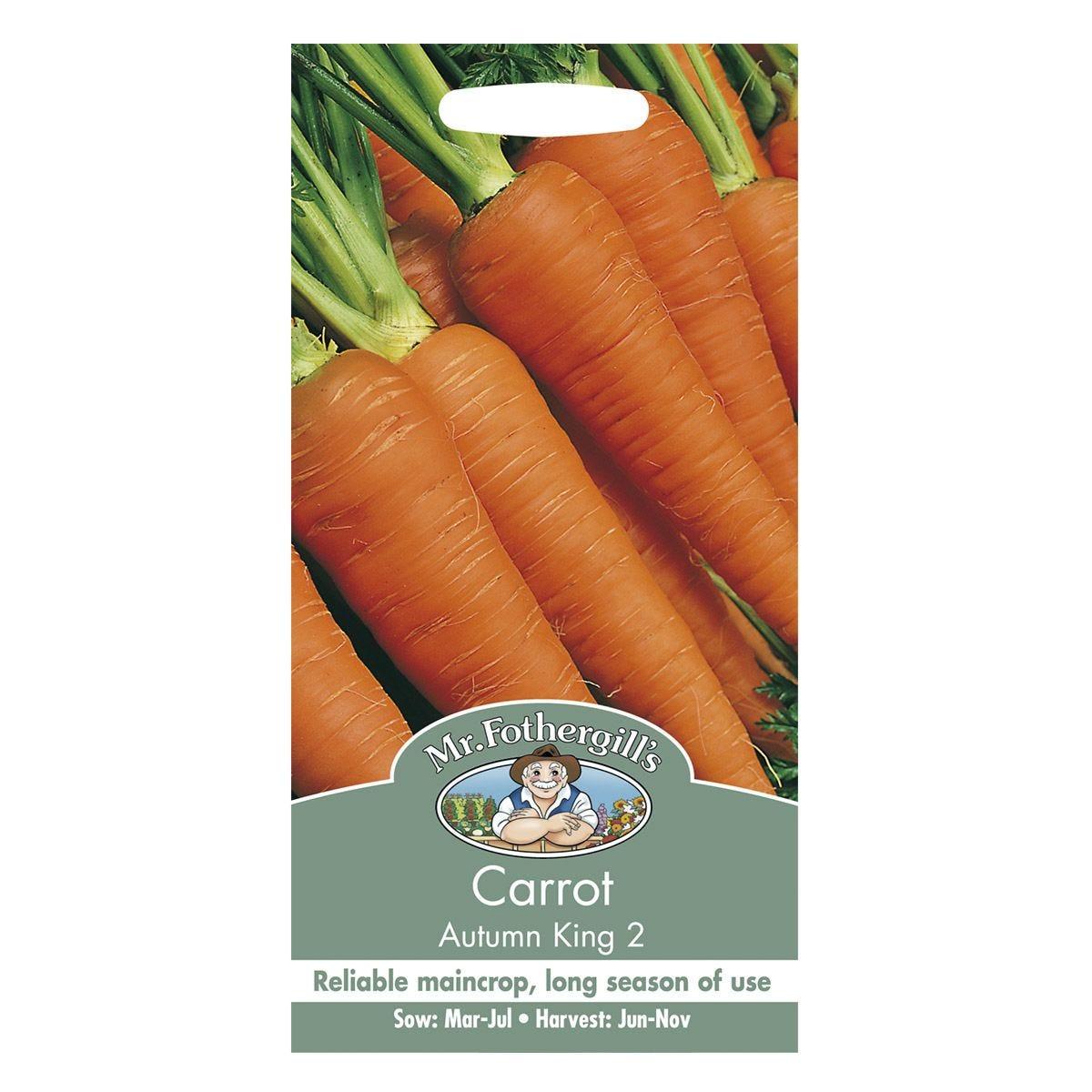 Mr Fothergill's Carrot Autumn King 2 Seeds