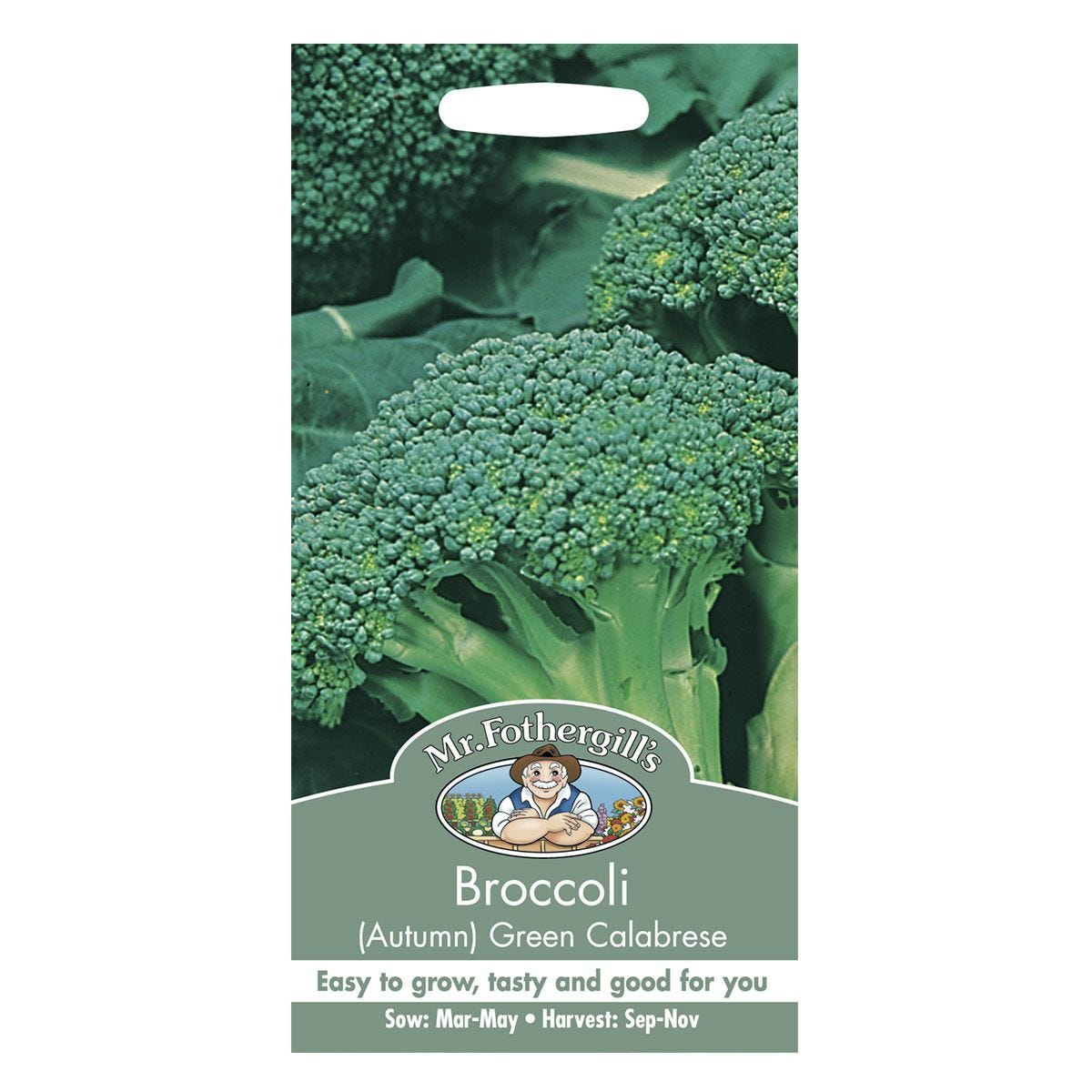 Mr Fothergill's Broccoli (Autumn) Green Calabrese Seeds