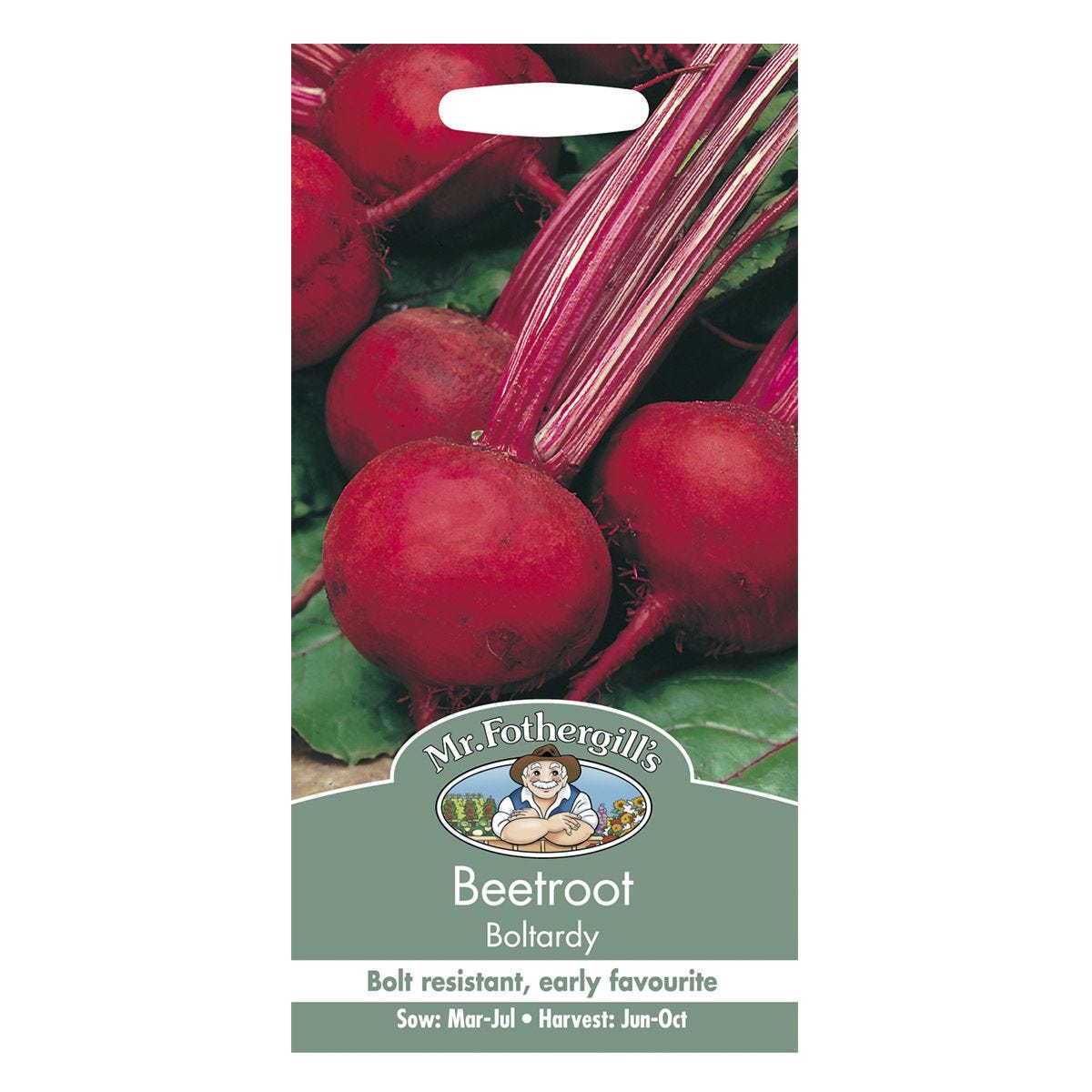 Mr Fothergill's Beetroot Boltardy Seeds