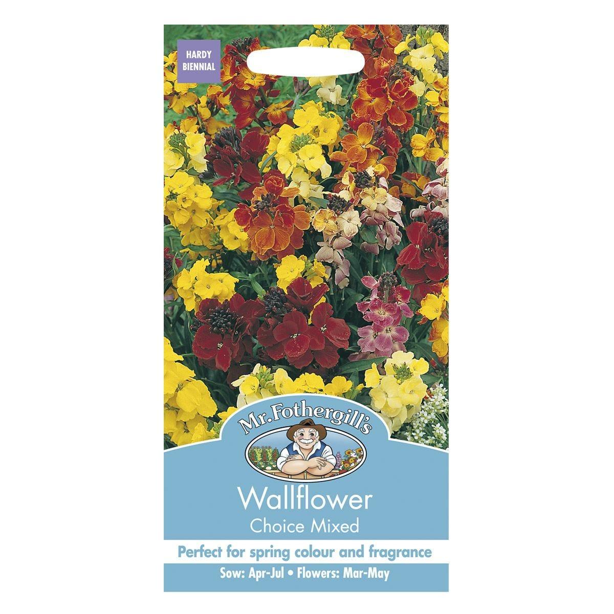 Mr Fothergill's Wallflower Choice Mixed Seeds