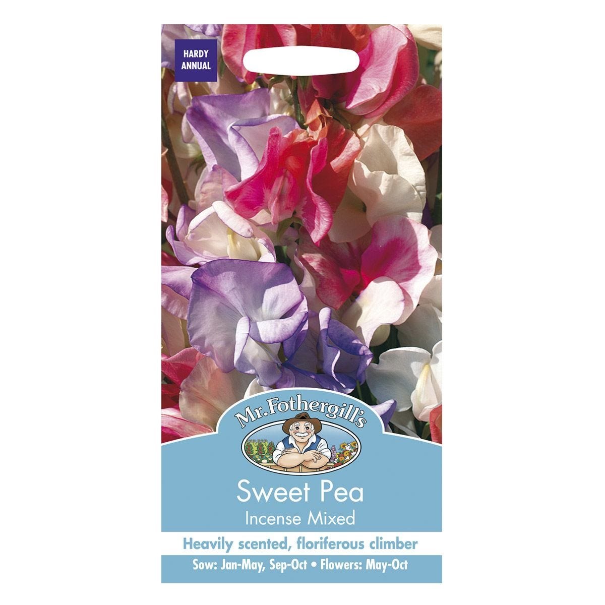 Mr Fothergill's Sweet Pea Incense Mixed Seeds