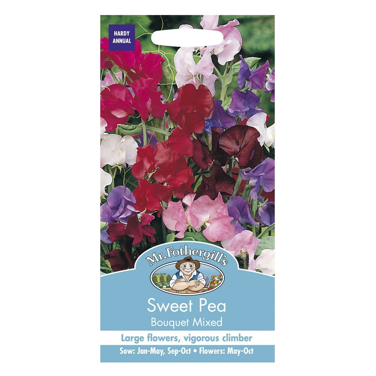 Mr Fothergill's Sweet Pea Bouquet Mixed Seeds