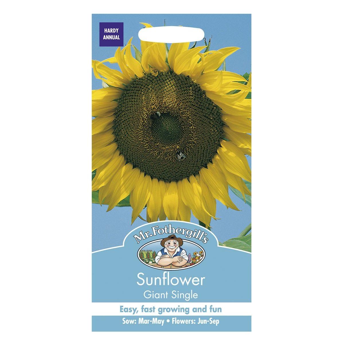 Mr Fothergill's Sunflower Giant Single Seeds