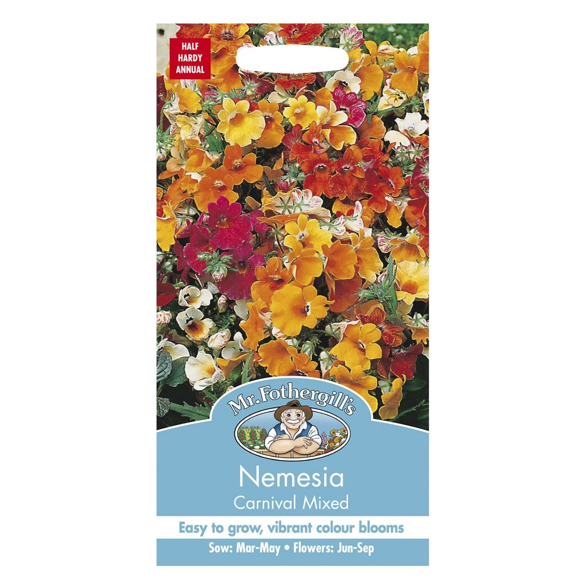 Mr Fothergill's Nemesia Carnival Mixed Seeds