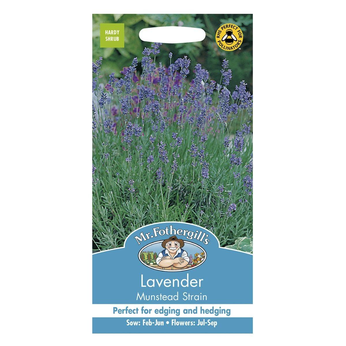 Mr Fothergill's Lavender Munstead Strain Seeds