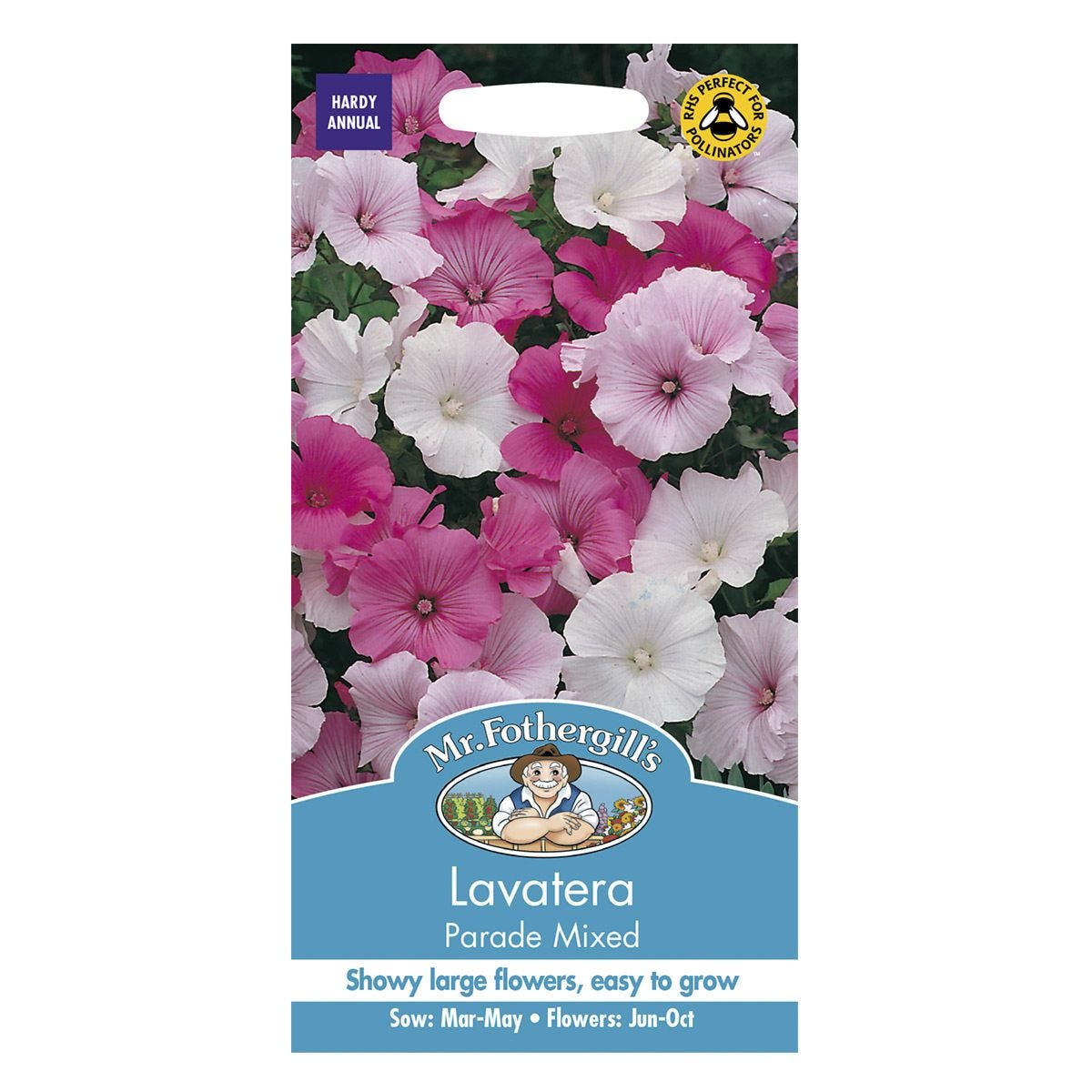 Mr Fothergill's Lavatera Parade Mixed Seeds