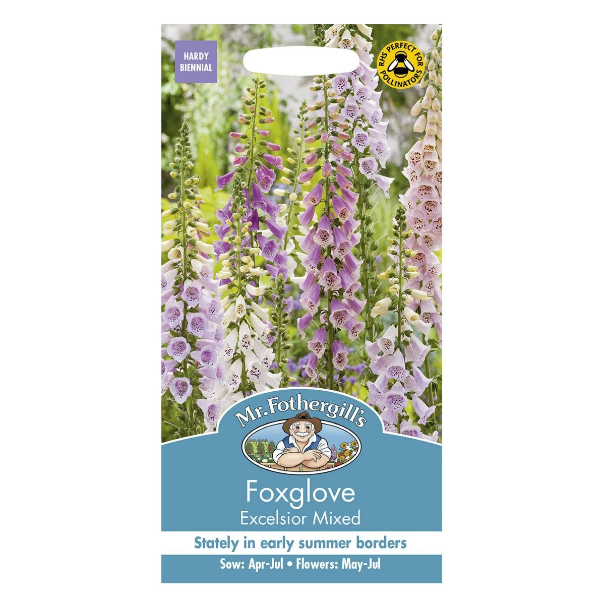 Mr Fothergill's Foxglove Excelsior Mixed Seeds