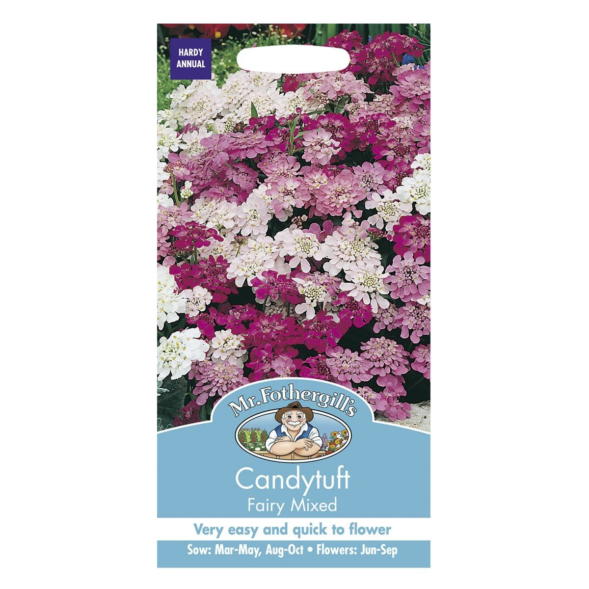 Mr Fothergill's Candytuft Fairy Mixed Seeds