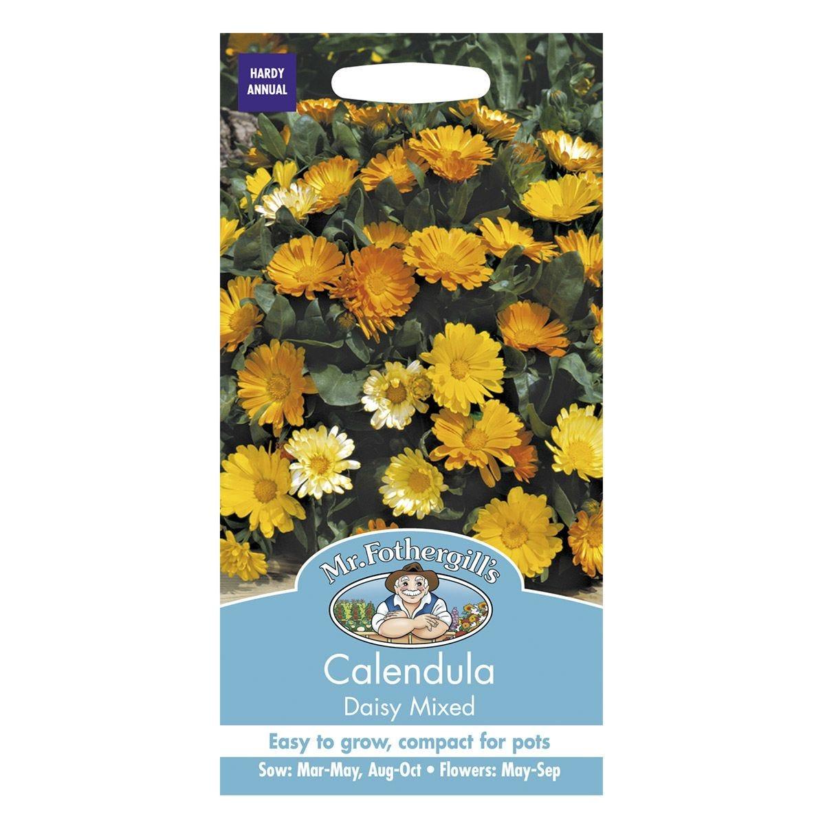 Mr Fothergill's Calendula Daisy Mixed Seeds
