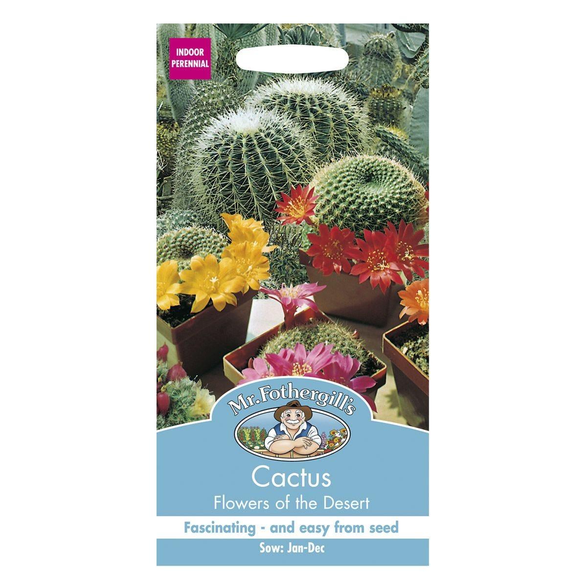 Mr Fothergill's Cactus Flowers Of The Desert Seeds