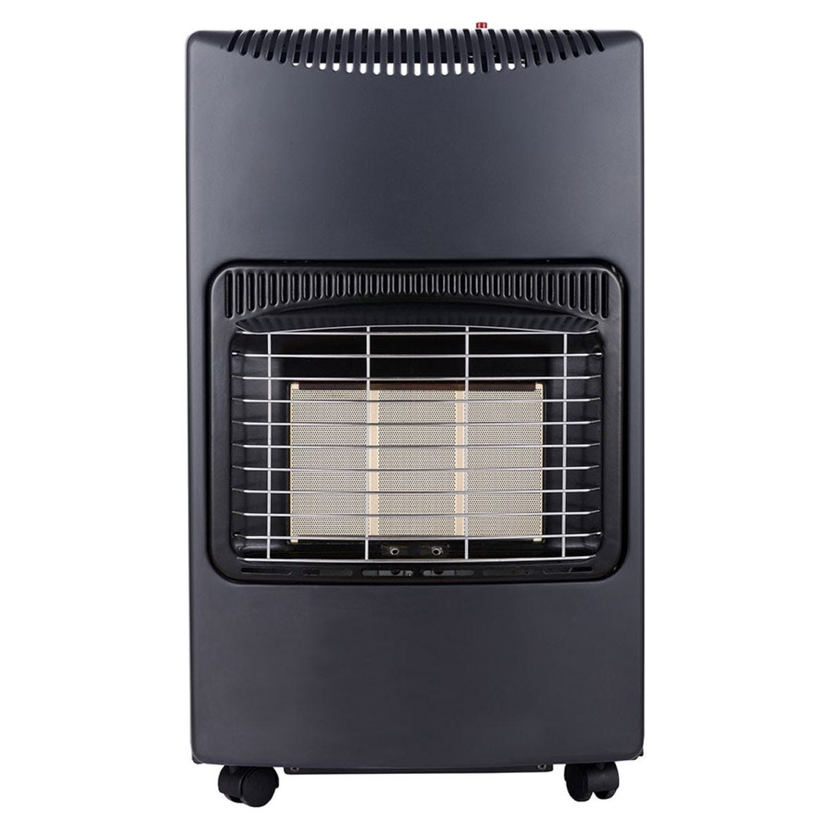 Igenix 4.2kW Portable Gas Heater with Regulator - Black