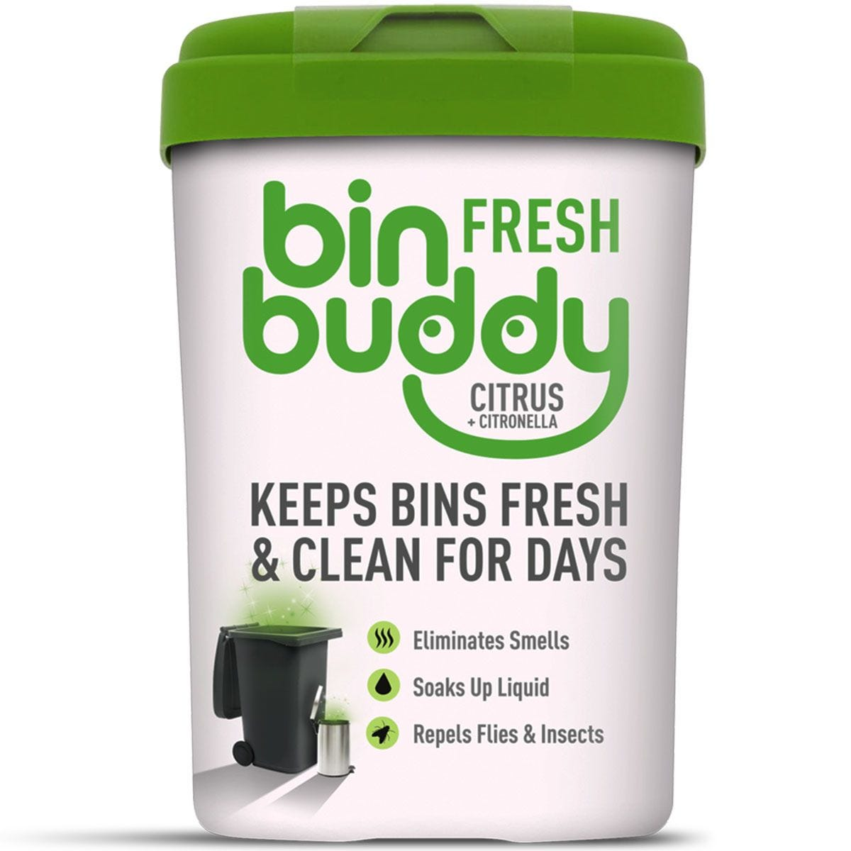 Bin Buddy Fresh Citrus Zing - 450g