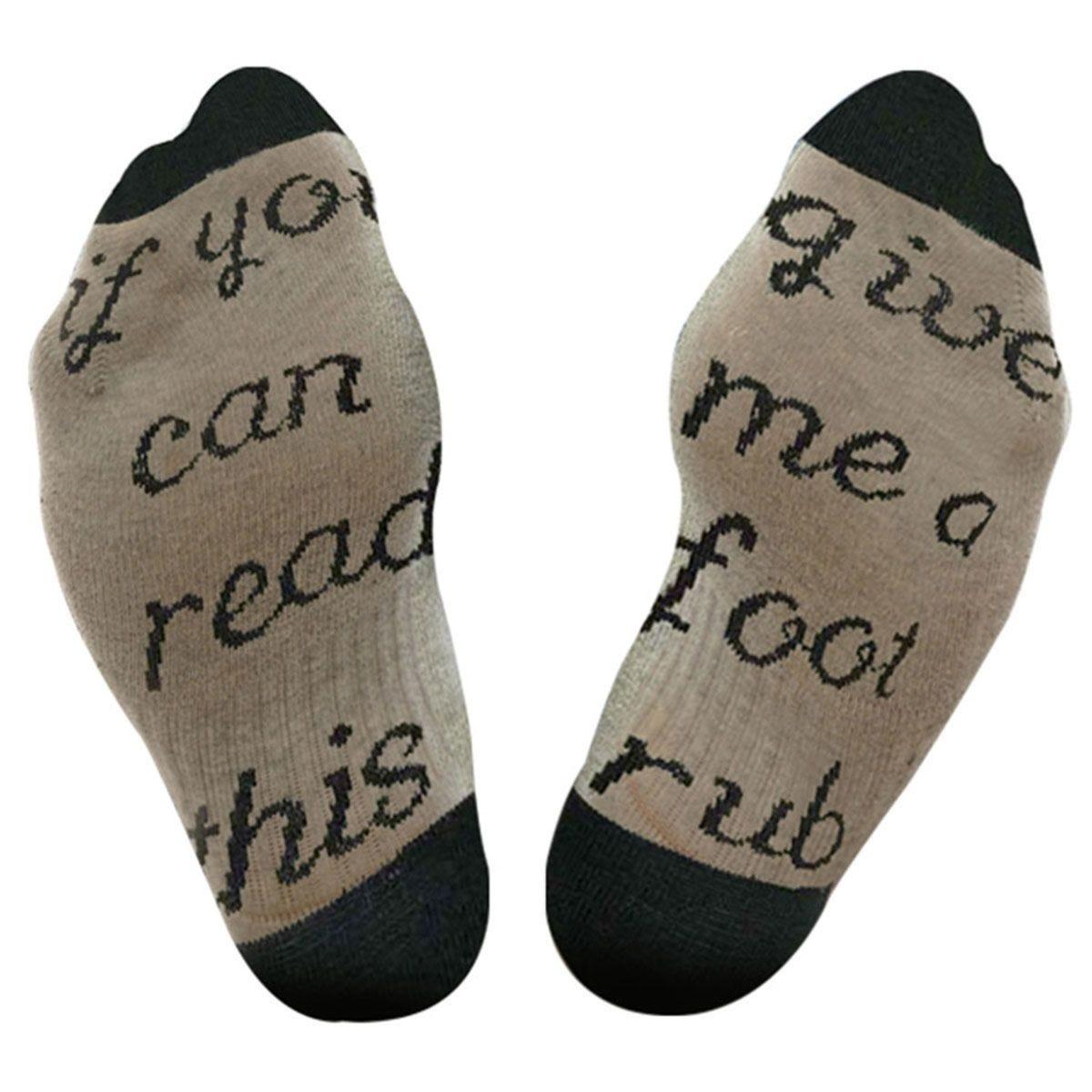 Flo Slogan Socks