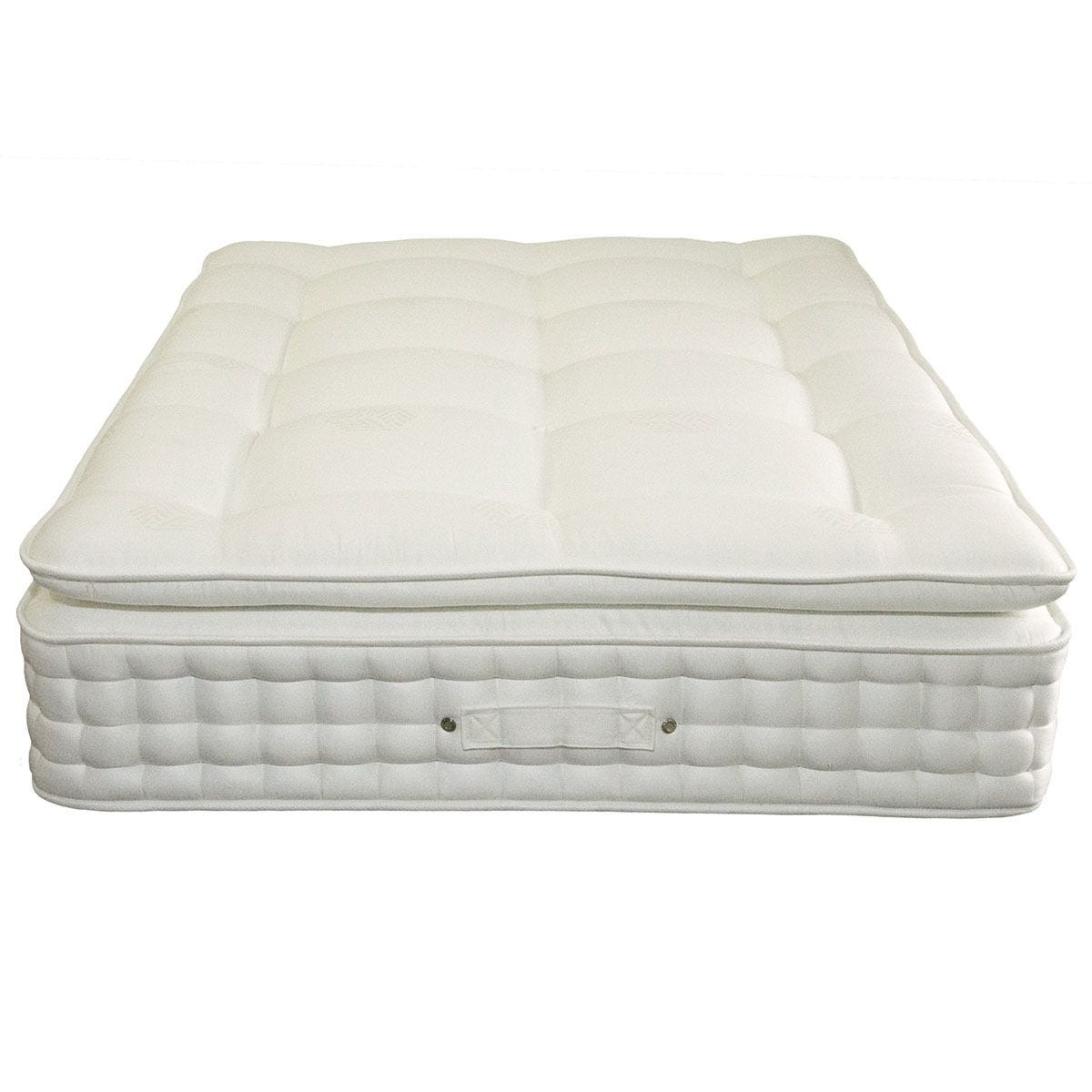 Comfy Deluxe Pillow Top 1500 Pocket Memory Mattress - White