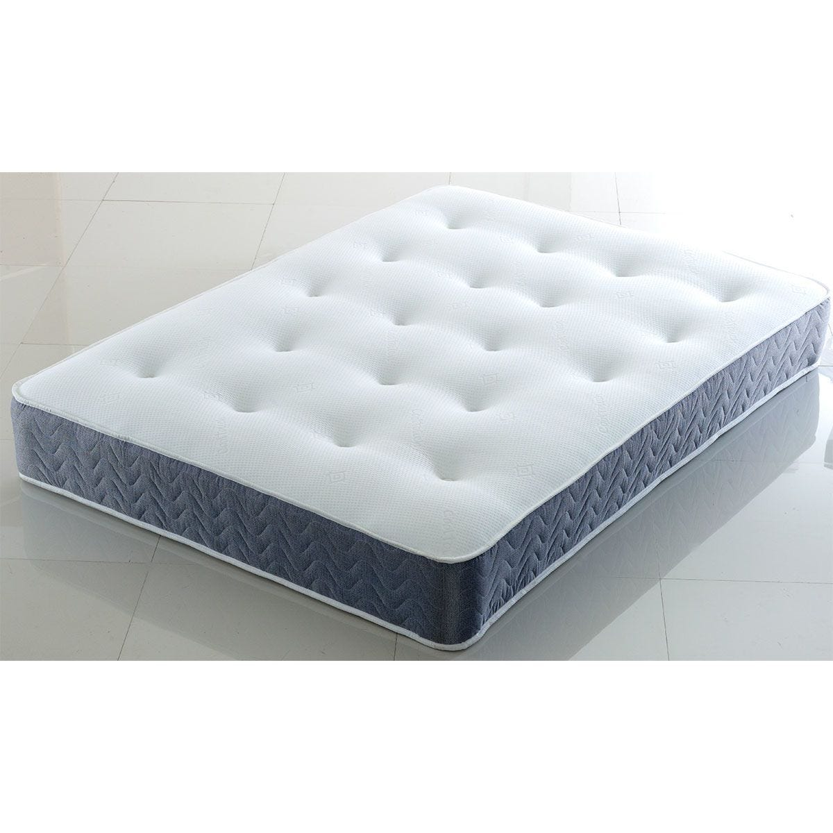 Comfy Deluxe Hand Tufted Orthopaedic Mattress Dual Sided - Grey