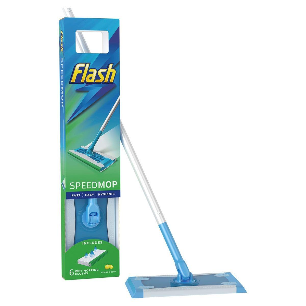 Flash SpeedMop Starter Kit + 6 Pads