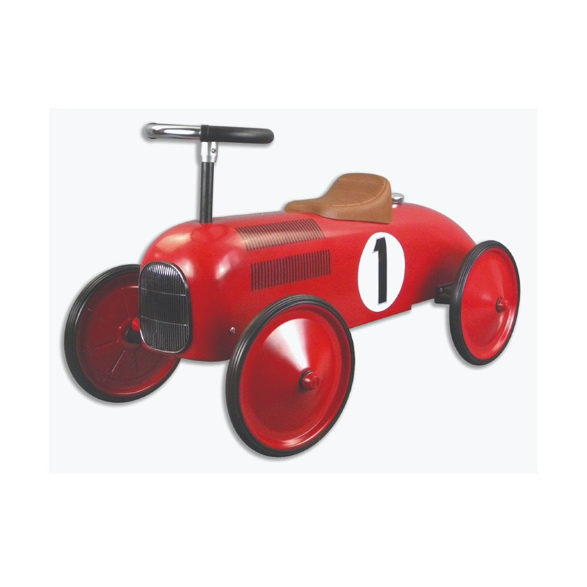Classic Racer Pedal Car - Red