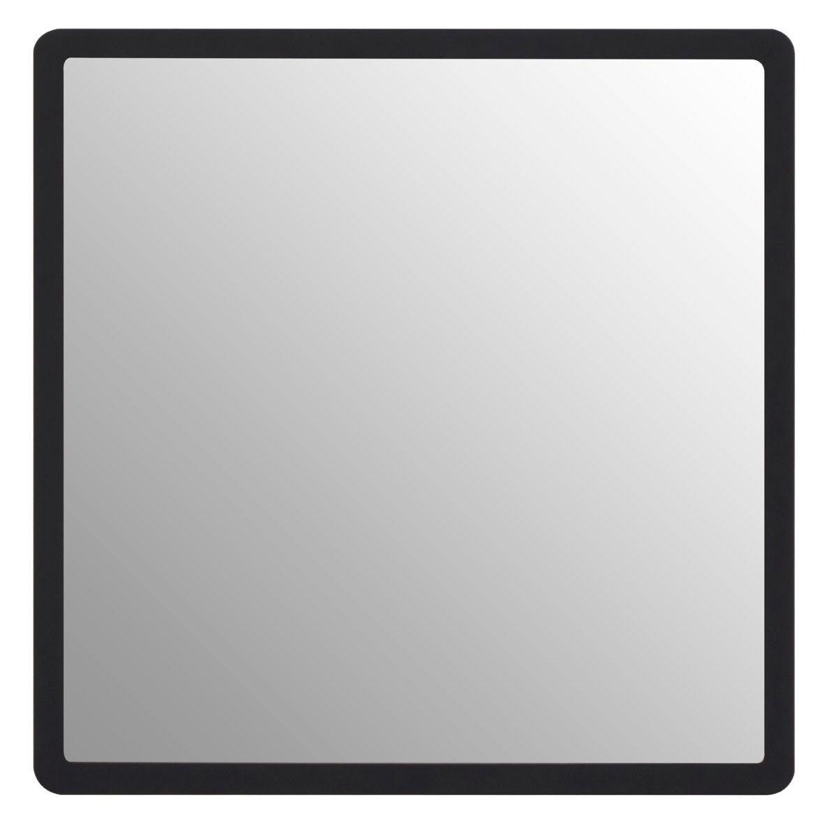 Premier Housewares Small Wall Mirror - Black/Gold