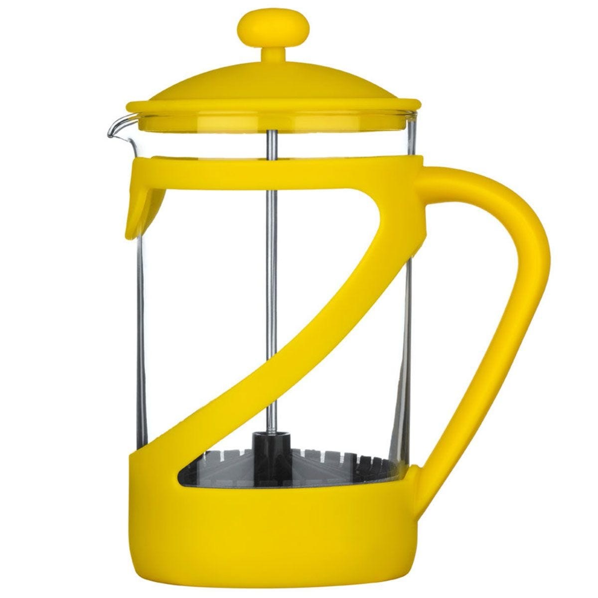 Premier Housewares Kenya 6-Cup Cafetiere - Yellow