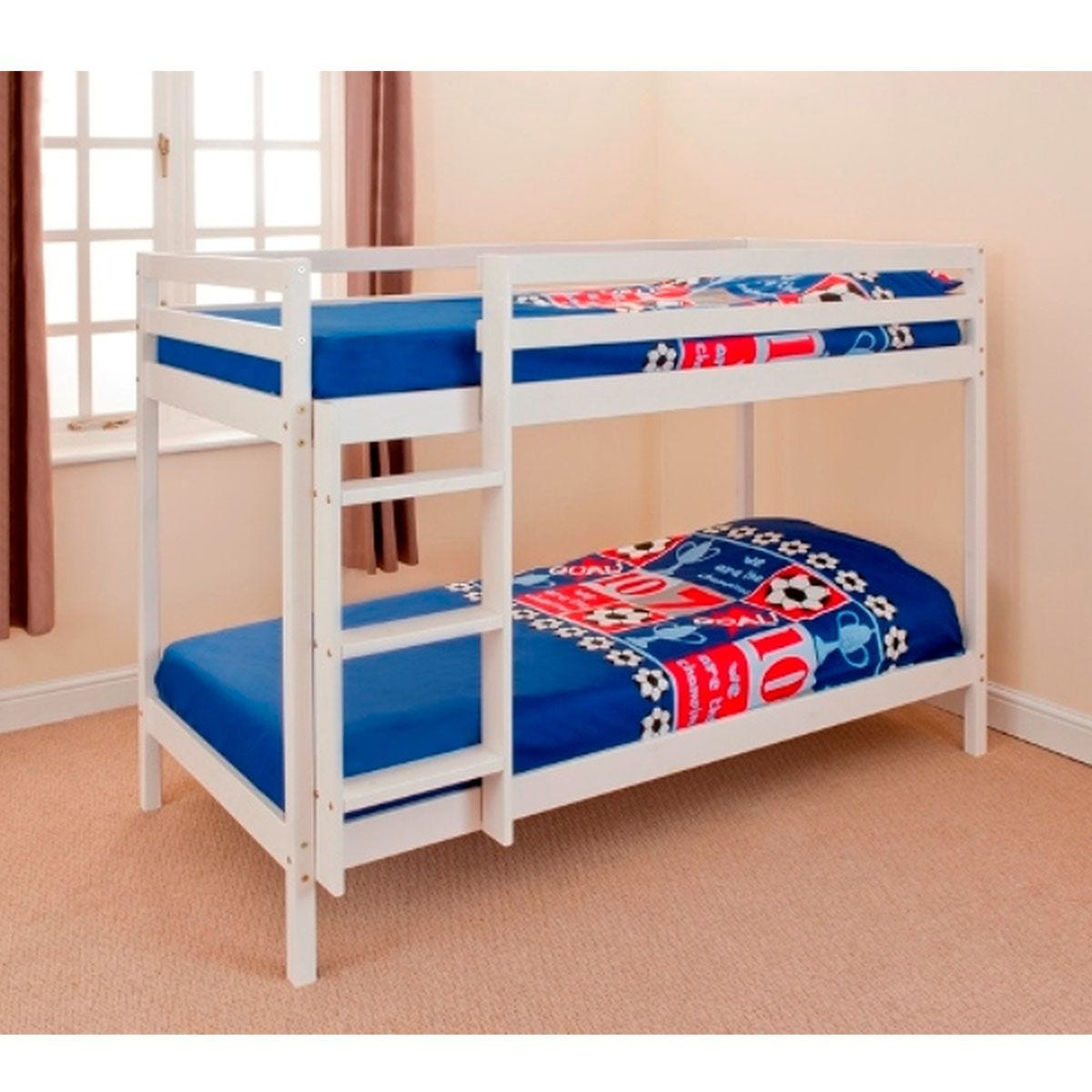 Hillingdon Bunk Bed - White