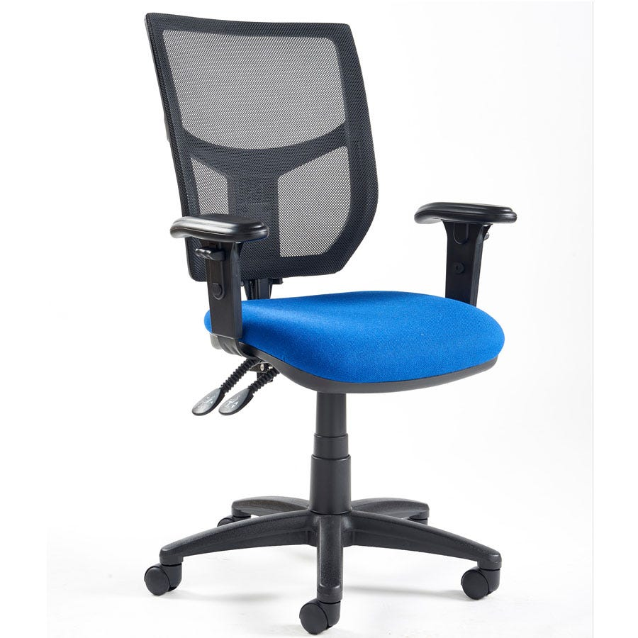 Compare prices for Dams Altino High Back Operator Chair with Adjustable Arms