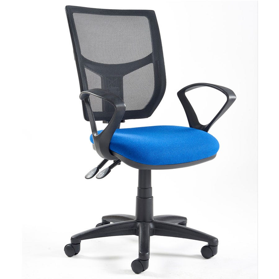 Compare prices for Dams Altino High Back Operator Chair with Fixed Armrests