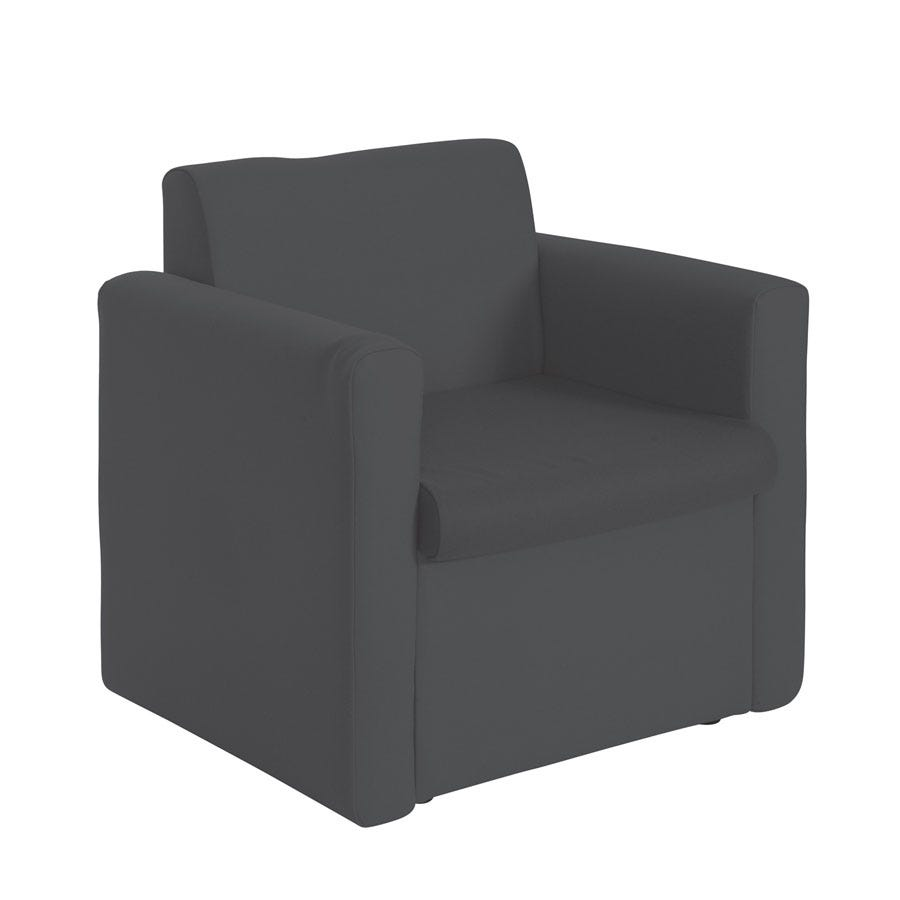 Compare prices for Dams Alto Modular Reception Seating Armchair - Charcoal
