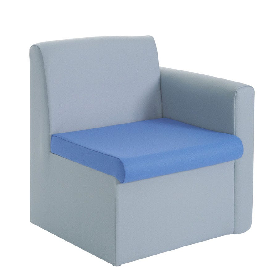 Compare prices for Dams Alto Modular Reception Seating Left Arm