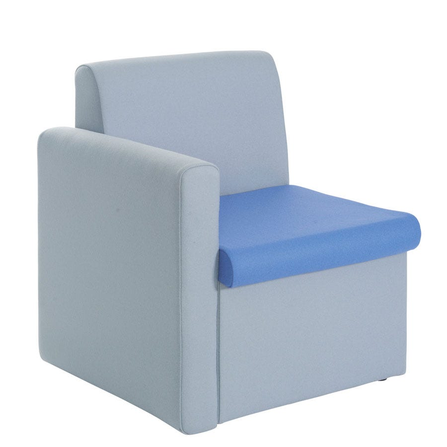 Compare prices for Dams Alto Modular Reception Seating Right Arm
