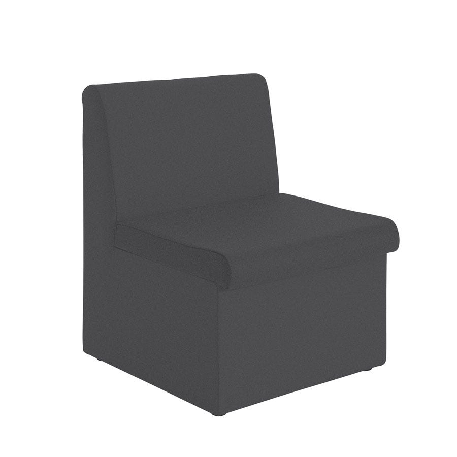 Compare prices for Dams Alto Modular Reception Seating without Arms - Charcoal