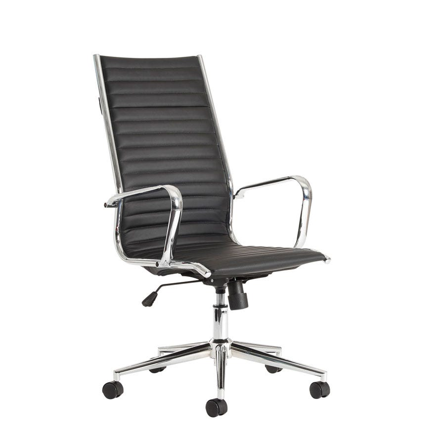 Compare prices for Dams Bari High-Back Leather Executive Chair
