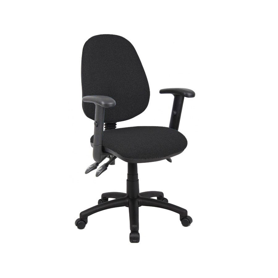 Compare cheap offers & prices of Dams Vantage Three-Lever Armchair - Black manufactured by DAMS