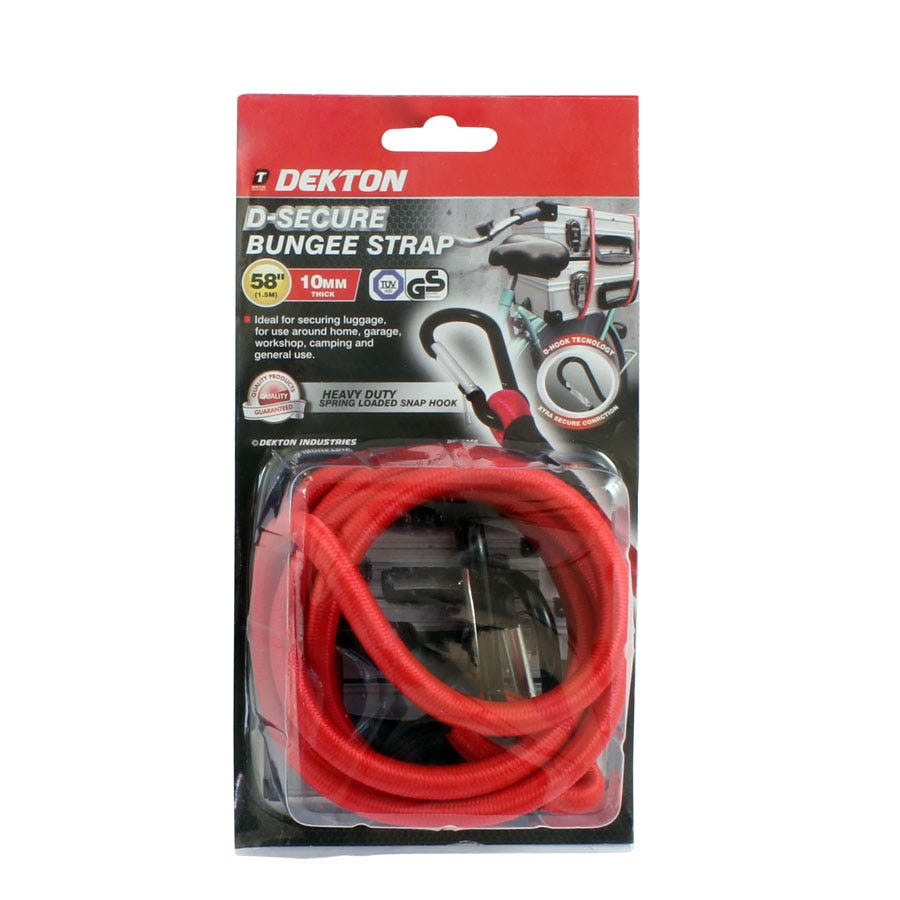 Compare prices for Dekton D Hook Secure Bungee Strap 58-Inch/1500mm