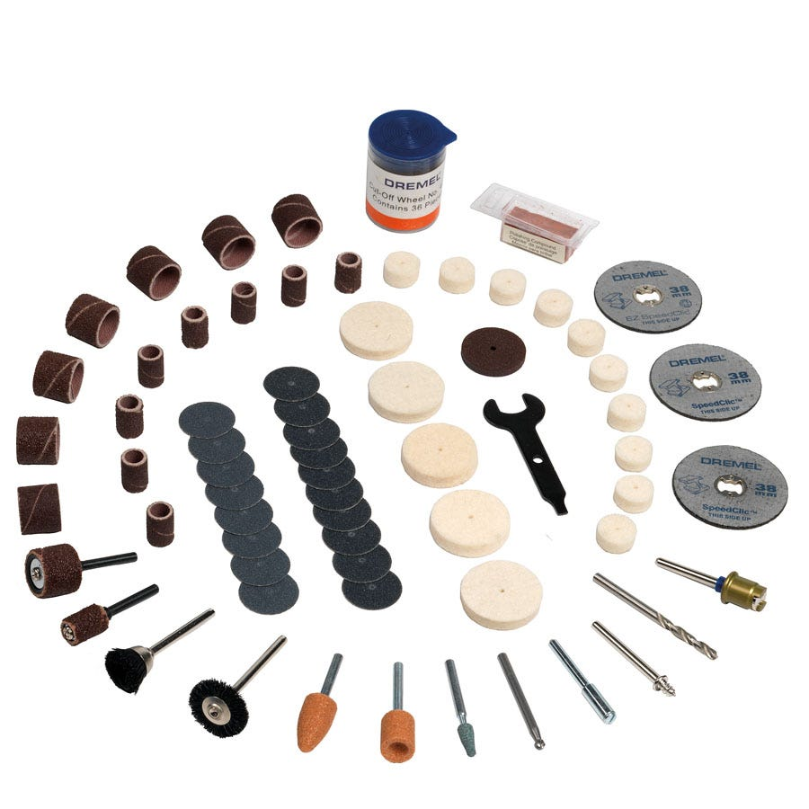 Compare prices for Dremel 100-Piece Accessory Set