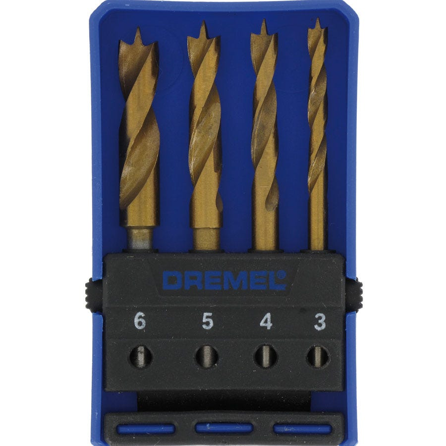 Compare prices for Dremel 4-Piece Wood Drill Bit Set