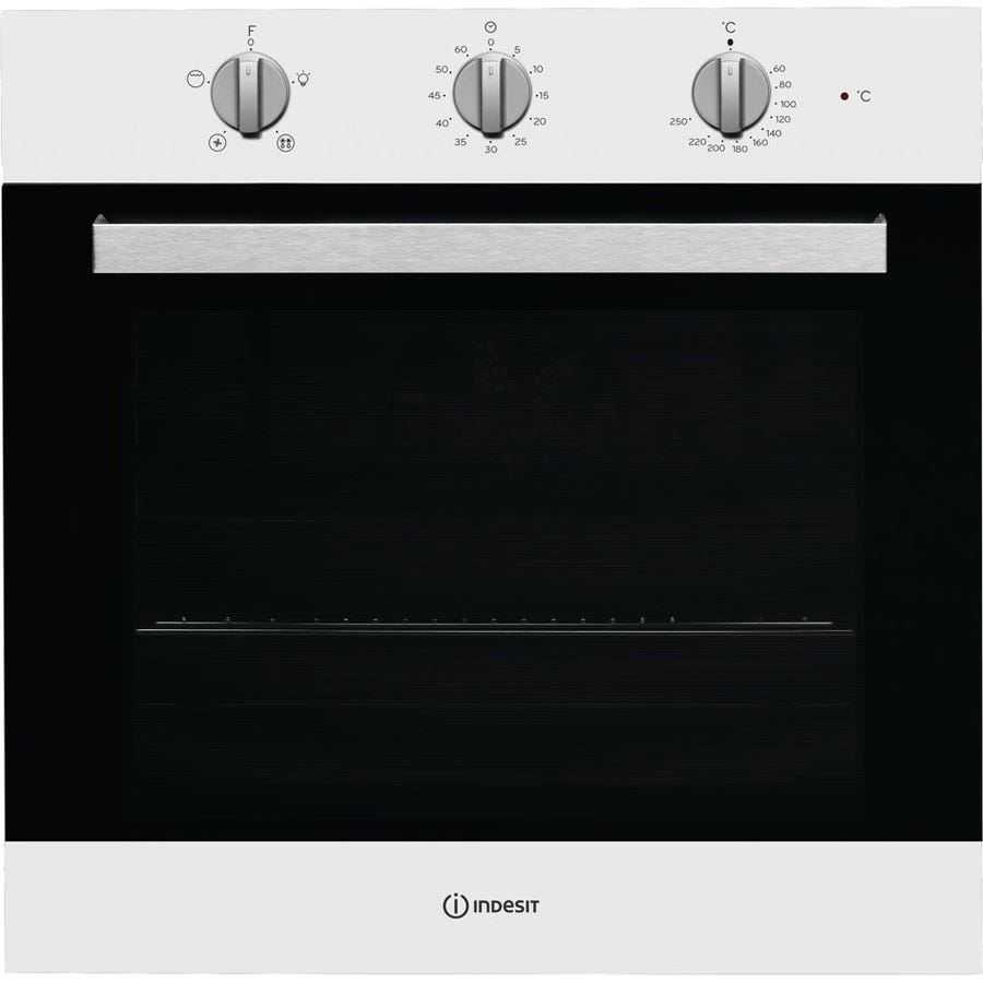 indesit ifw6330wh built-in single electric oven - white