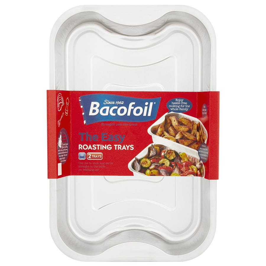 Compare prices for Bacofoil Easy Roasting Tray - Pack of 2