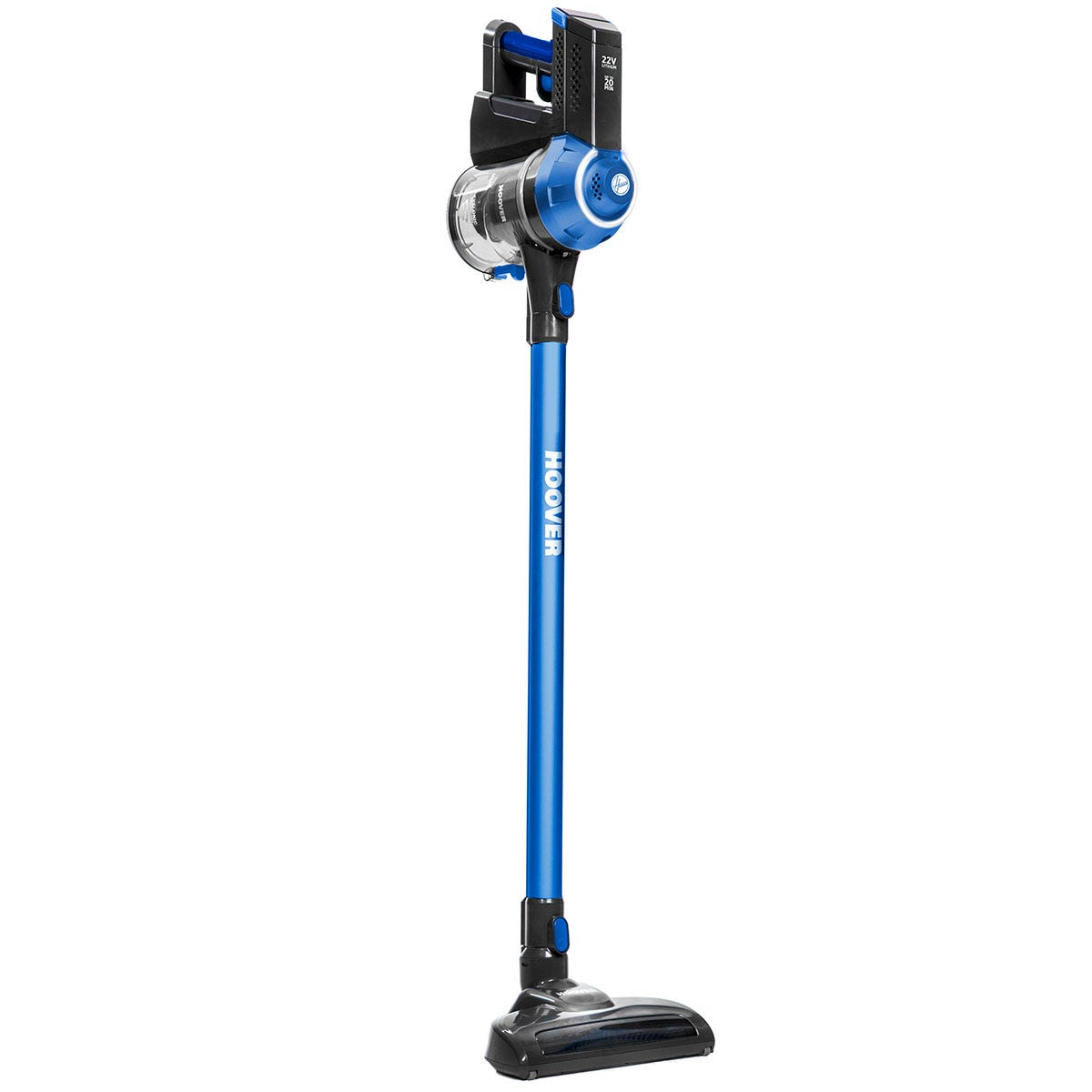 Hoover FD22L Freedom 2-in-1 Cordless 22V Vacuum Cleaner - Black and Blue