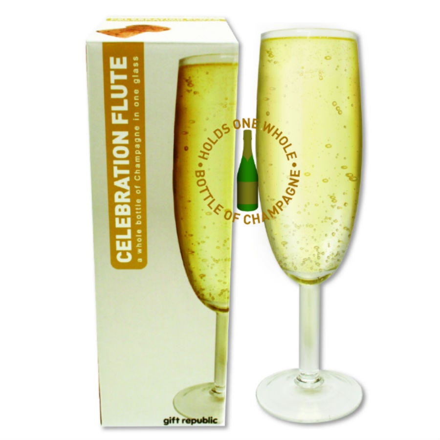 Compare cheap offers & prices of Robert Dyas Giant Champagne and Prosecco Flute manufactured by Robert Dyas