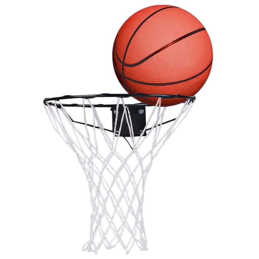 Image of Charles Bentley Basketball Set Ring Hoop Net With Wall Mounting Bracket