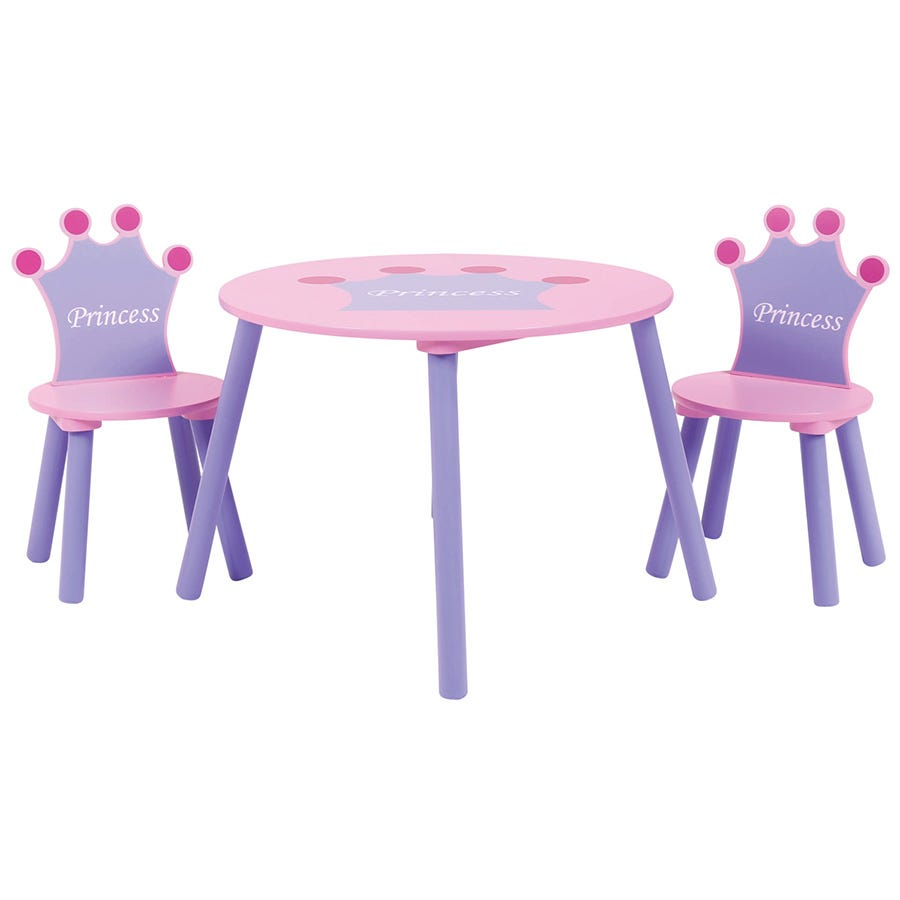 Compare cheap offers & prices of Charles Bentley Kids Princess Table and 2 Chairs manufactured by Charles Bentley