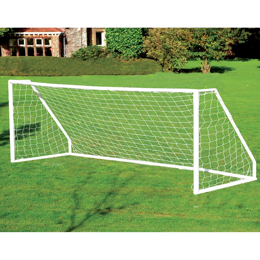 Compare prices for Charles Bentley 12ft X 6ft Plastic Portable Football Goal Inc Net