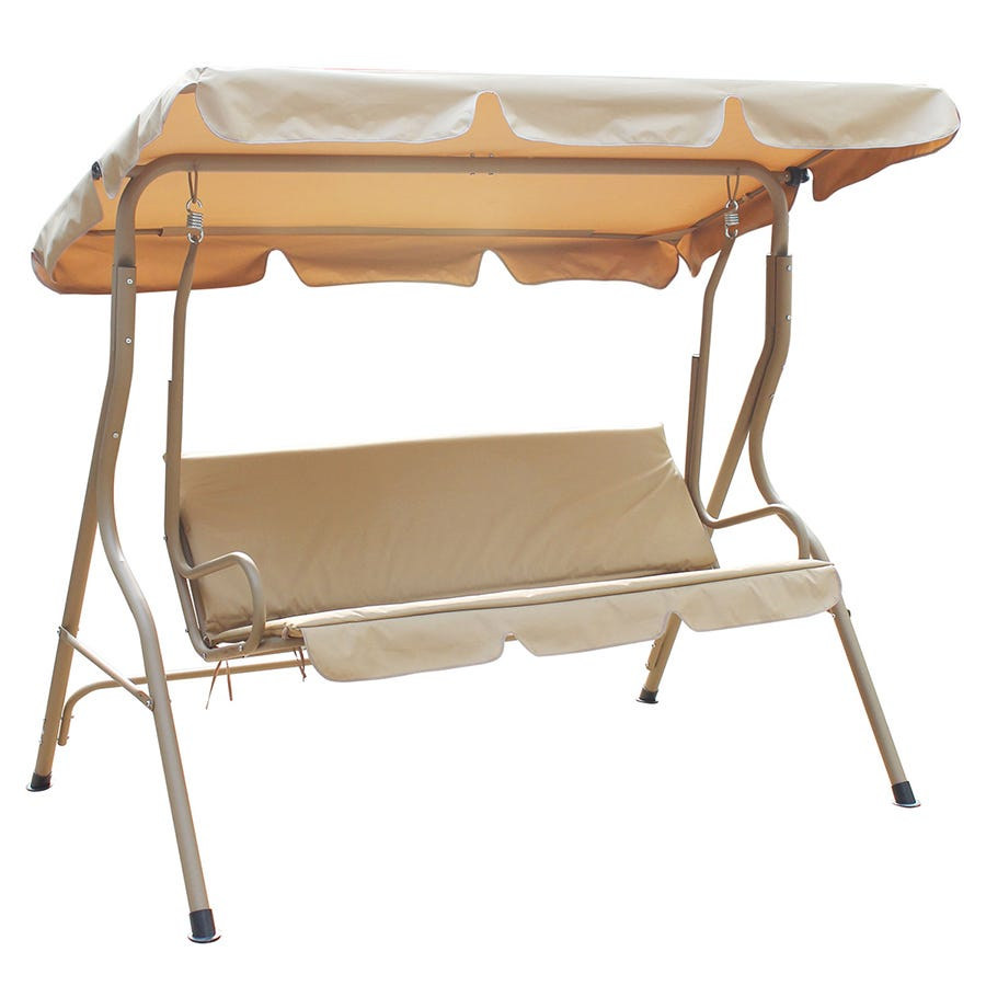Compare cheap offers & prices of Charles Bentley 2 Seater Hammock - Beige manufactured by Charles Bentley