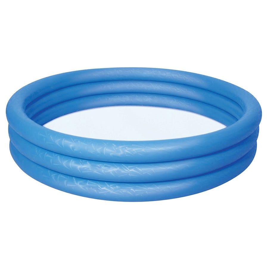 Charles Bentley Bestway Inflatable 6ft Ring Paddling Pool Blue
