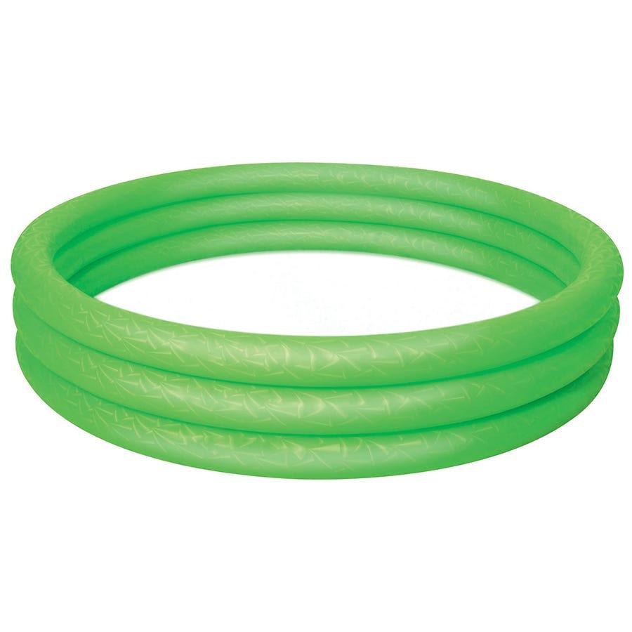 Charles Bentley Bestway Inflatable 6ft Ring Paddling Pool Green